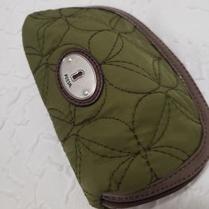 Fossil Travel Bag/Cosmetic bag for Purse